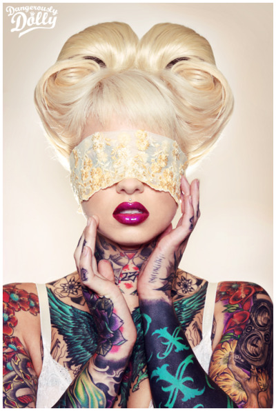 (via Tattoo Portrait and Fashion by Dangerously Dolly | Pondly)
