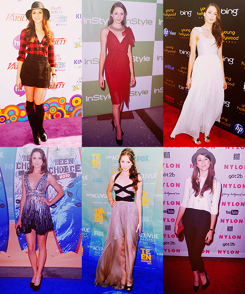 SIX FAVORITE RED CARPET OUTFITS ♛ Troian Bellisario