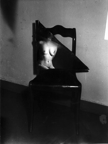 Broken mirror nude, 1953-55 by Wally Elenbaas [see previous post]