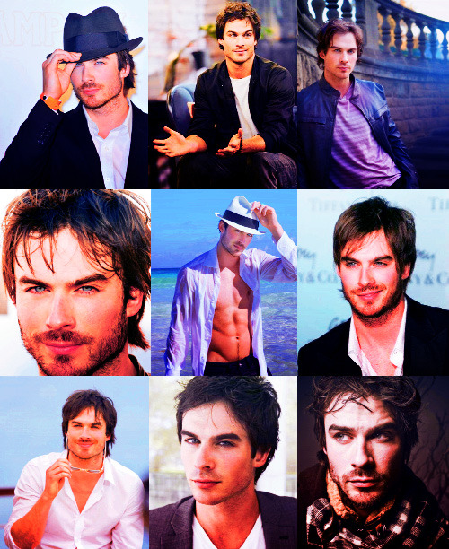 My Biggest Crushes (In no particular order) → Ian Somerhalder