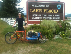 Lake Placid! I don't know how I got so far ahead of schedule. Lisa's wedding isn't until twelfth, so I guess that means a week off before continuing to NYC. I'll post here and there, but the pace will slow. I imagine I am now going to sleep for 20 of the next few 24 hours.