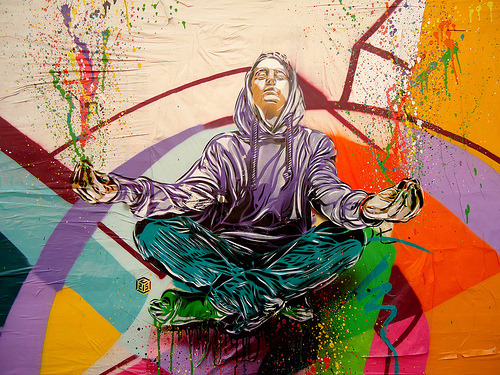 Marseille Meditation (by C215)