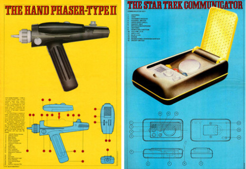 heyoscarwilde:  anatomy of a Star Trek The Original Series Tri-Corder. scanned from Sci-Fi Monthly :: New English Library :: 1976 previous:  anatomy of a Star trek Phaser :: anatomy of a Star Trek communicator