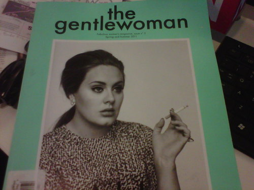 I mean, how can you not love a magazine called The Gentlewoman? (From the makers of Fantastic Man.)