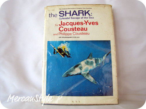 Jacques Cousteau Book The Shark: Splendid Savage of the Sea click the picture to view the etsy listing http://www.etsy.com/listing/79382652/jaques-cousteau-book-the-shark-splendid