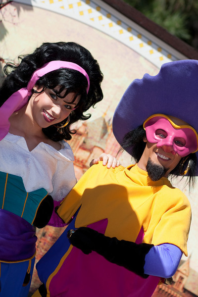 Clopin and Esmeralda - Disneyland