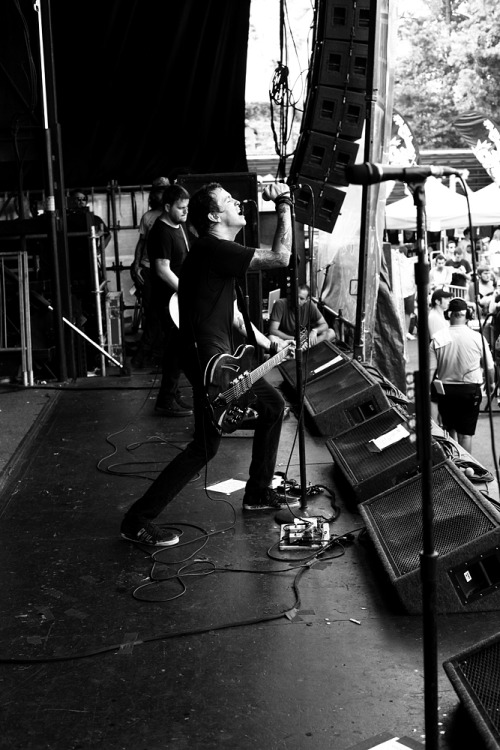 Against Me! at Warped Tour in Atlanta(full version: http://www.ryanrussell.net/index_againstmeatlwarped6.jpg)