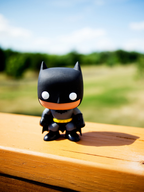 herochan:  Batman - Pop! Heroes from Funko (box) Photo by Kaz Tang
