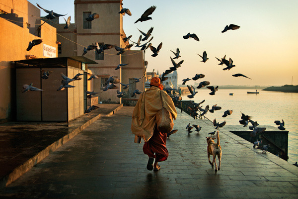 The holy pilgrimage town of Dwarka, India
