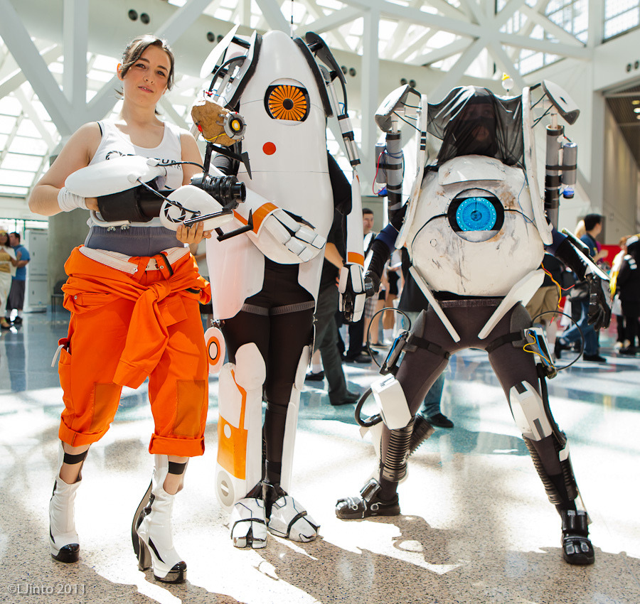 I am humbled by this Portal cosplay.