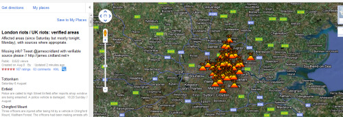 Londons Burning. Literally wtf? There isn't even a reason for it. Apparently the furniture shop that was set on fire made it through two world wars unharmed- now been burnt to the ground. Where's the army?! I've seen no water cannons or tear gas on the go…