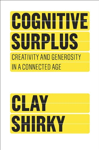 "coverspy:  Cognitive Surplus, Clay Shirky (M, 20s, Yankees cap, navy V-neck T-shirt, backpack, purple bookmark, C train) http://bit.ly/qvoSto  Really cool… Cover Spy = a whole Tumblr and Twitter feed dedicated to books they've seen being read in public in New York City* with a note about what the reader looked like. ""A team of publishing nerds hits the subways, streets, parks & bars to find out what New Yorkers are reading now."" FYI Clay Shirky will be speaking about creativity in a connected age in New York City at World Innovation Forum 2012 which runs June 20 & 21. * There's also a Cover Spy London and Buenos Aires — amazing."