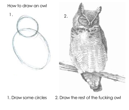 how i learned to draw.