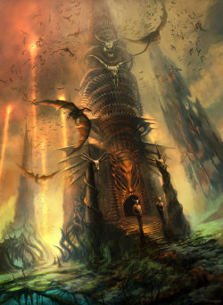 Sentries Of The Wyrm's Lair by *digitalhadz