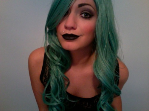 danimaree:  tornado sirens go off? grab a beer, put on black lipstick, and listen to born this way