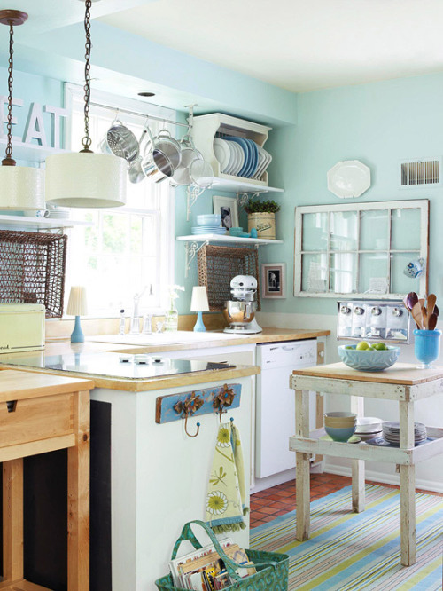 justbesplendid:  cottage kitchen