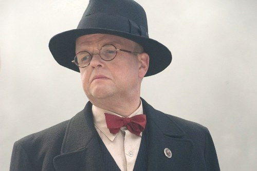 thetardis:  Toby Jones aka The Dream Lord as Doctor Arnim Zola in Captain America: The First Avenger  THAT'S who that was!
