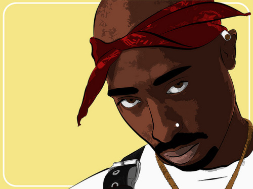 Tupac Shakur  by liquidsouldesign on Flickr.