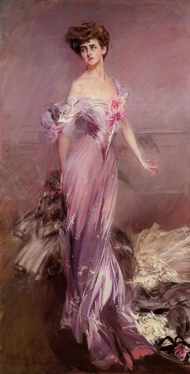 oldrags:  Portrait of Mrs Howard Johnston by Giovanni Boldini, 1906