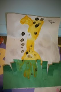 teachpreschool:  (via Welcome to Explore Education: Art - Giraffe Project)