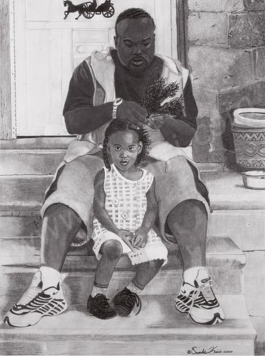 "sincereexpressions:  ""In Daddy's Hands""- Oronde Kairi"