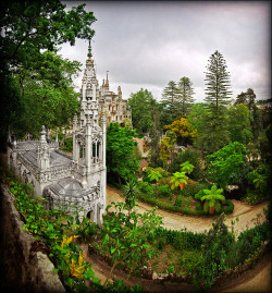 "ysvoice:  | ♕ |  Quinta da Regaleira, Sintra, Portugal  |  by Katarina 2353  Quinta da Regaleira is an estate located near the historic center of Sintra, Portugal. It is classified as a World Heritage Site by UNESCO within the ""Cultural Landscape of Sintra"". [ref. Wiki]"