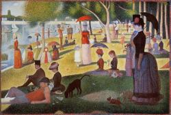 Georges Seurat, Sunday afternoon on the island of la grande jatte (1886)