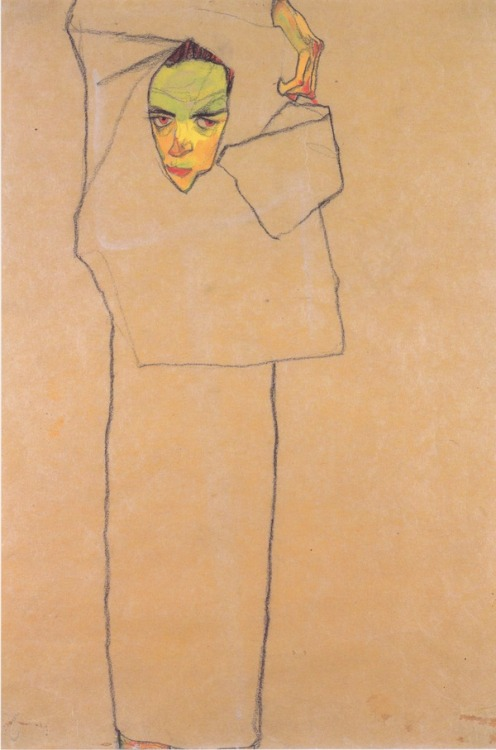 Egon Schiele - Self-Portrait (1910)