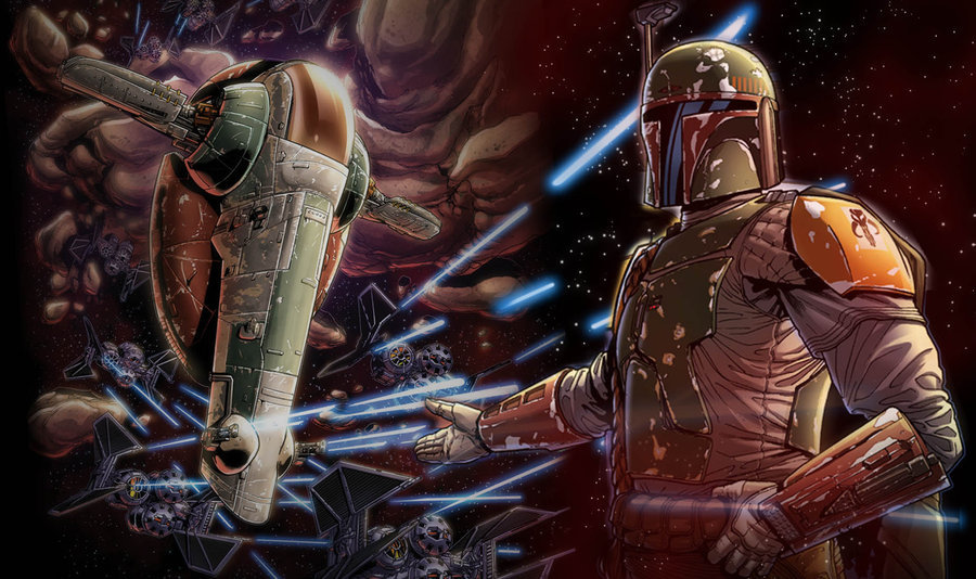 #StarWars Boba Fett From Star Wars: Force Unleashed II Graphic Novel