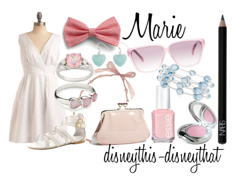 disneythis-disneythat:  Marie from the Aristocats. <3  SO cute!
