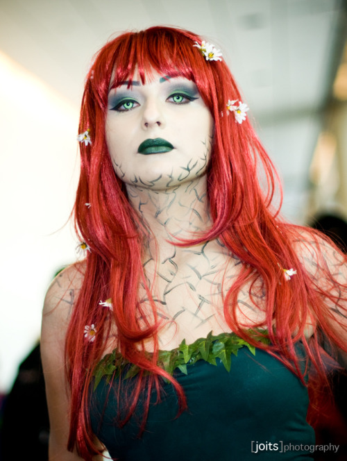 Poison Ivy  Taken at San Diego Comic-Con 2011. Photo by Joits. Via: angelophile
