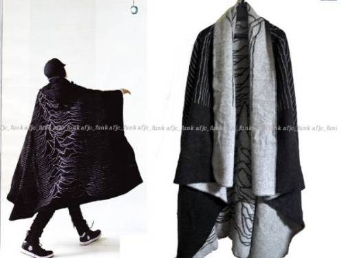 Wow… addsubtract:  lacollectionneuse:  unknown pleasures cape • undercoverism50,000 円  GIVE TO MEAGAN