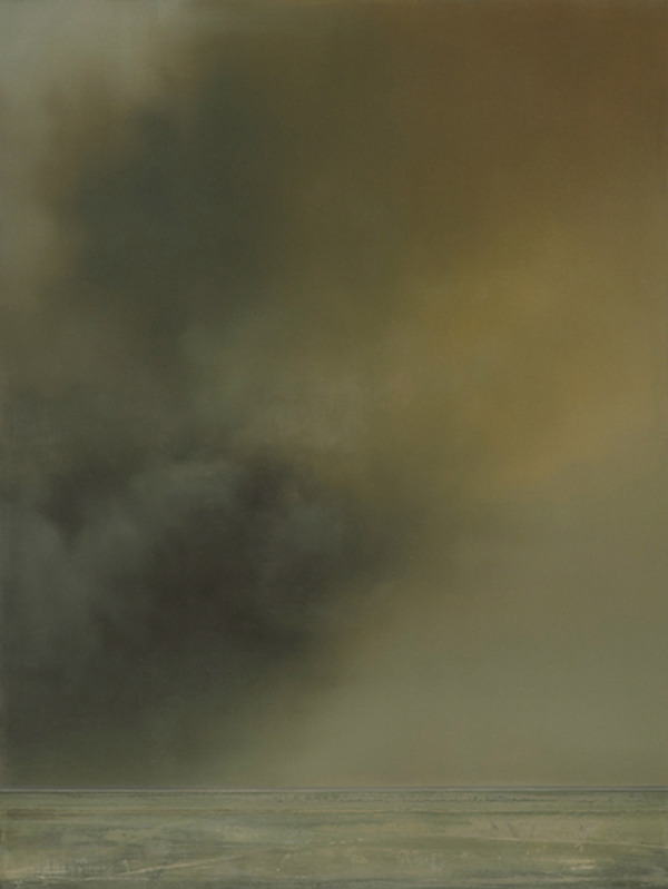 WhiteNoise no.6 by Christopher Saunders 2009, Oil on Linen, 24 x 18 in http://hiroyukihamada.com/blog/