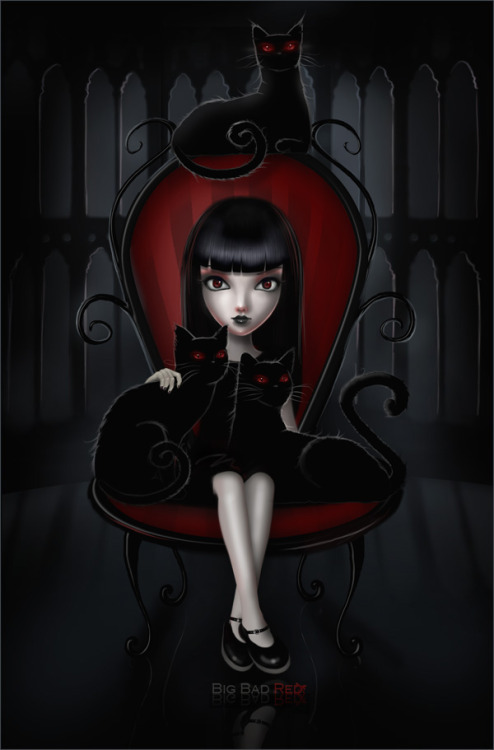 gothgallery:  Emily the Strange by *red-riding