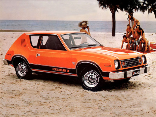 masterpiston:  1978 AMC Gremlin X.