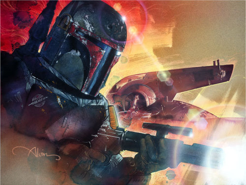Mr. Fett by John Alvin