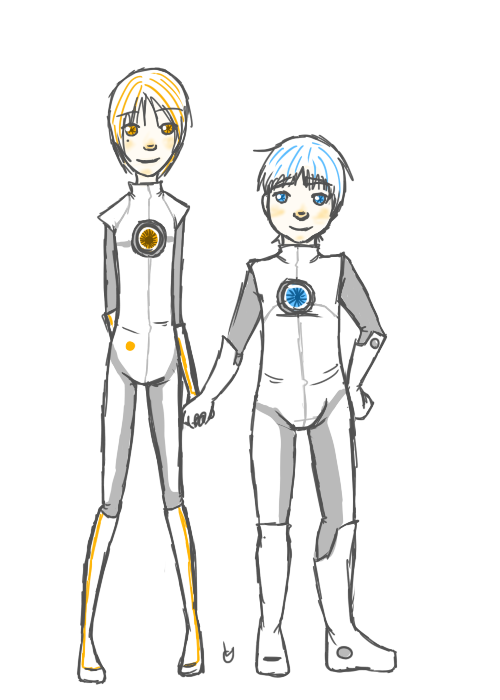 RobiiitttssssRedesigned my humanoid  ATLAS and P-Body u >u(b'D')b Awkward poses 101