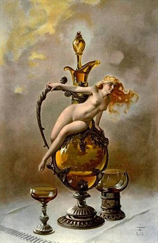 Luis Ricardo Faléro The Wine of Tokai - 1886