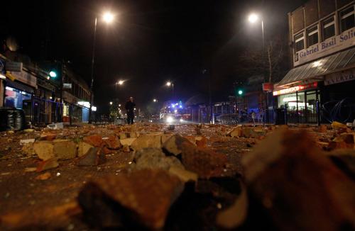 【焦点大图】伦敦骚乱