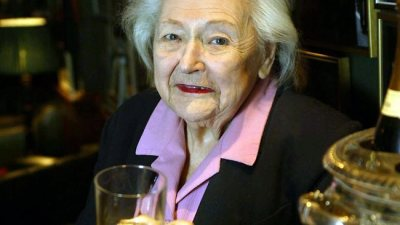 "hellandheartaches:  meganwest:   RIP NANCY WAKE (30 August 1912 – 7 August 2011) Ms Wake, who has died in London just before her 99th birthday, was a New Zealander brought up in Australia. She became a nurse, a journalist who interviewed Adolf Hitler, a wealthy French socialite, a British agent and a French resistance leader. She led 7,000 guerrilla fighters in battles against the Nazis in the northern Auvergne, just before the D-Day landings in 1944. On one occasion, she strangled an SS sentry with her bare hands. On another, she cycled 500 miles to replace lost codes. In June 1944, she led her fighters in an attack on the Gestapo headquarters at Montlucon in central France. Work began earlier this month on a feature film about Nancy Wake's life. Ms Wake, one of the models for Sebastian Faulks' fictional heroine, Charlotte Gray, had mixed feelings about previous cinematic efforts to portray her wartime exploits, including a TV mini-series made in 1987. ""It was well-acted but in parts it was extremely stupid,"" she said. ""At one stage they had me cooking eggs and bacon to feed the men. For goodness' sake, did the Allies parachute me into France to fry eggs and bacon for the men? There wasn't an egg to be had for love nor money. Even if there had been why would I be frying it? I had men to do that sort of thing."" Ms Wake was also furious the TV series suggested she had had a love affair with one of her fellow fighters. She was too busy killing Nazis for amorous entanglements, she said. Even before she escaped to Britain, through Spain, in 1943 to train as a guerrilla leader, Nancy had been top of the Gestapo's French ""wanted"" list. With her husband, she ran a resistance network which helped to smuggle Jews and allied airmen out of the country. Nancy recalled later in life that her parachute had snagged in a tree. The French resistance fighter who freed her said he wished all trees bore ""such beautiful fruit"". Nancy retorted: ""Don't give me that French shit.""  We all need role models.   Bad Broads in History.  !"