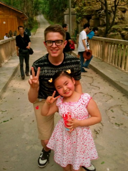 sirnathandouglashunt:  Chinese Children are Cute!  Ummmm, can I PLEASE have my Chinese students back? It literally feels like someone took my children away.  P.S I recognize the heart emblem sewn on this gentlemen's pants. It makes my heart sad. I may or may not have bought boy pants in China? What? They're yellow with silver pockets!