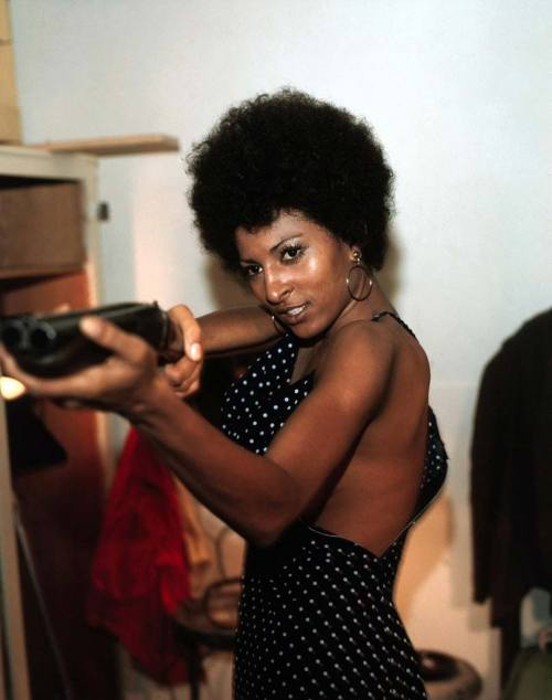 "iloveretro:  Pam Grier in ""Foxy Brown"" (1974)"