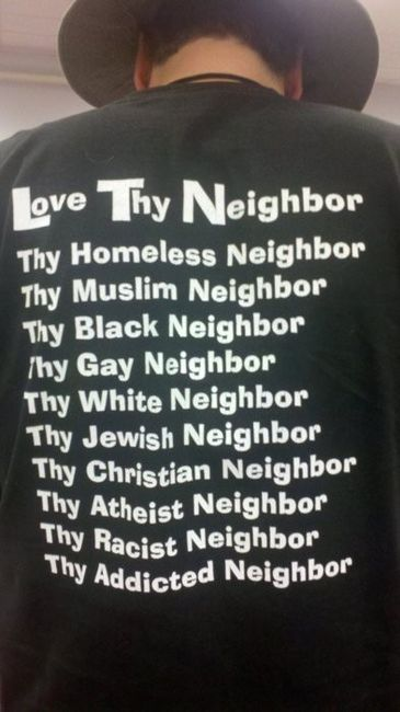 No for the racist neighbour. i have my morals.