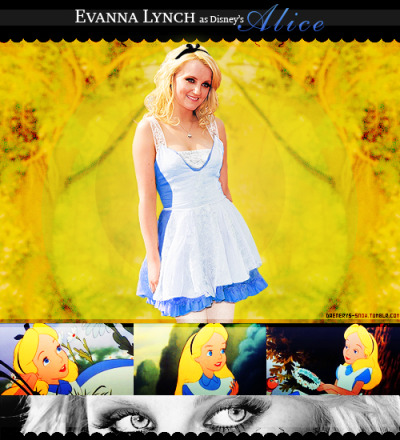 ★ Disney Live Action Dreamcast ★↳ Alice In Wonderland || Evanna Lynch as Alice