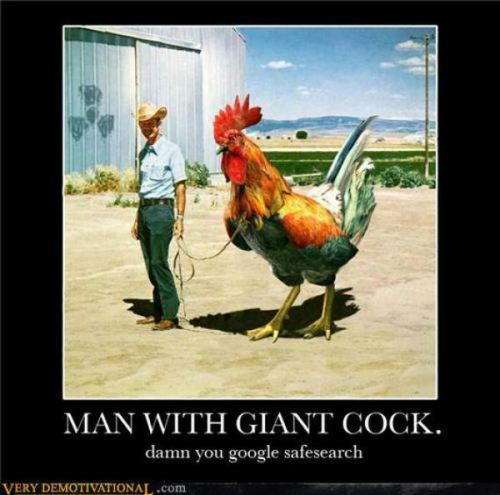 I wish I had a giant cock like that. I'd have people pay to ride it and pet it and stuff.