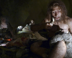 How  humans outpaced their relatives remains a mystery, but fossil evidence has left  some clues about the scenarios that may have led to the downfall of  Neanderthals.  No  single smoking gun is likely responsible. But here, we explore some of the factors  that contributed to their decline. (Cannibalism may have had something to do with it.)
