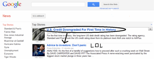 #Downgrade Advice to investors.  LOL.
