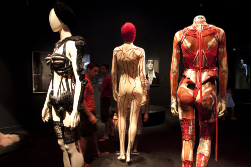 went to montreal for the weekend and checked out the jean paul gaultier exhibition at the montreal museum of fine arts