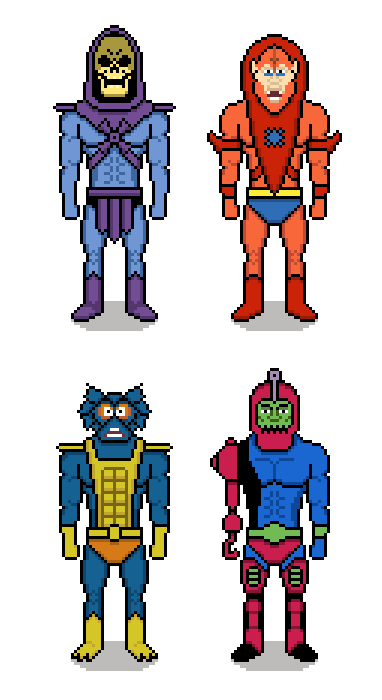 Evil Warriors Wallpaper (via 8bitstars.com) Who the f…k is this?
