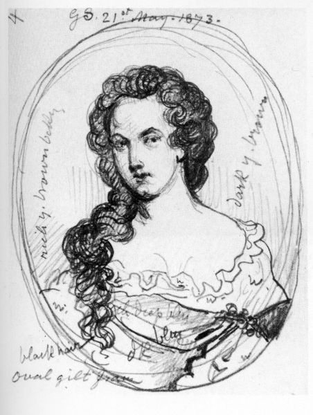 fuckyeahhistorycrushes:  Here's another one of my history crushes: Aphra Behn (10 July 1640 – 16 April 1689).  Wife, World traveller, Restorationist, Spy, Inmate and Author, the history of Mrs. Behn is as important as her literary leavings.  Her work Oronooko is believed to be the first book to bring home to England the horrors of slavery.  Although not what one might consider a traditional beauty, based on the few portraits that exist, each one manages to capture a smouldering intensity to the eyes that suggest intelligence, understanding and quite possibly humour.